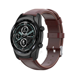 Image 4 - Genuine Leather Band For Ticwatch Pro 3 GPS 4G/LTE Watch Strap For Ticwatch Pro 2020/GTX/E2/S2 Replacement Bracelet High Quality