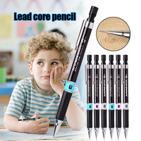 12pcs HB Automatic Mechanical Draughting Pencil 0.3mm Smooth Writing Ergonomic Rubber Grip PUO88 -