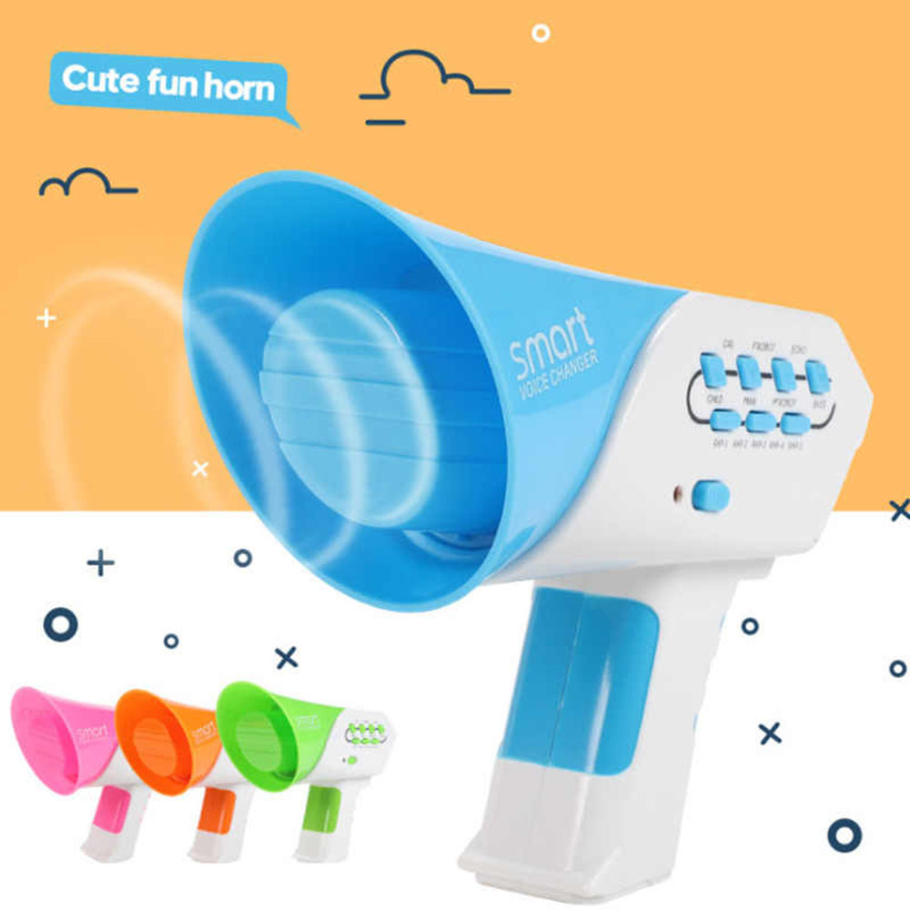 Vocal  Toys Loudspeaker Multi Voice Changer Creative Funny Voice-changing Toys With 7 Different Voice Modifiers For Kids Gift