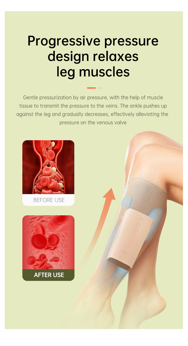 Air Compression Leg and Calf Massager 9