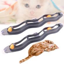 Игрушки для домашних животных кошек интерактивный трек мяч игрушка