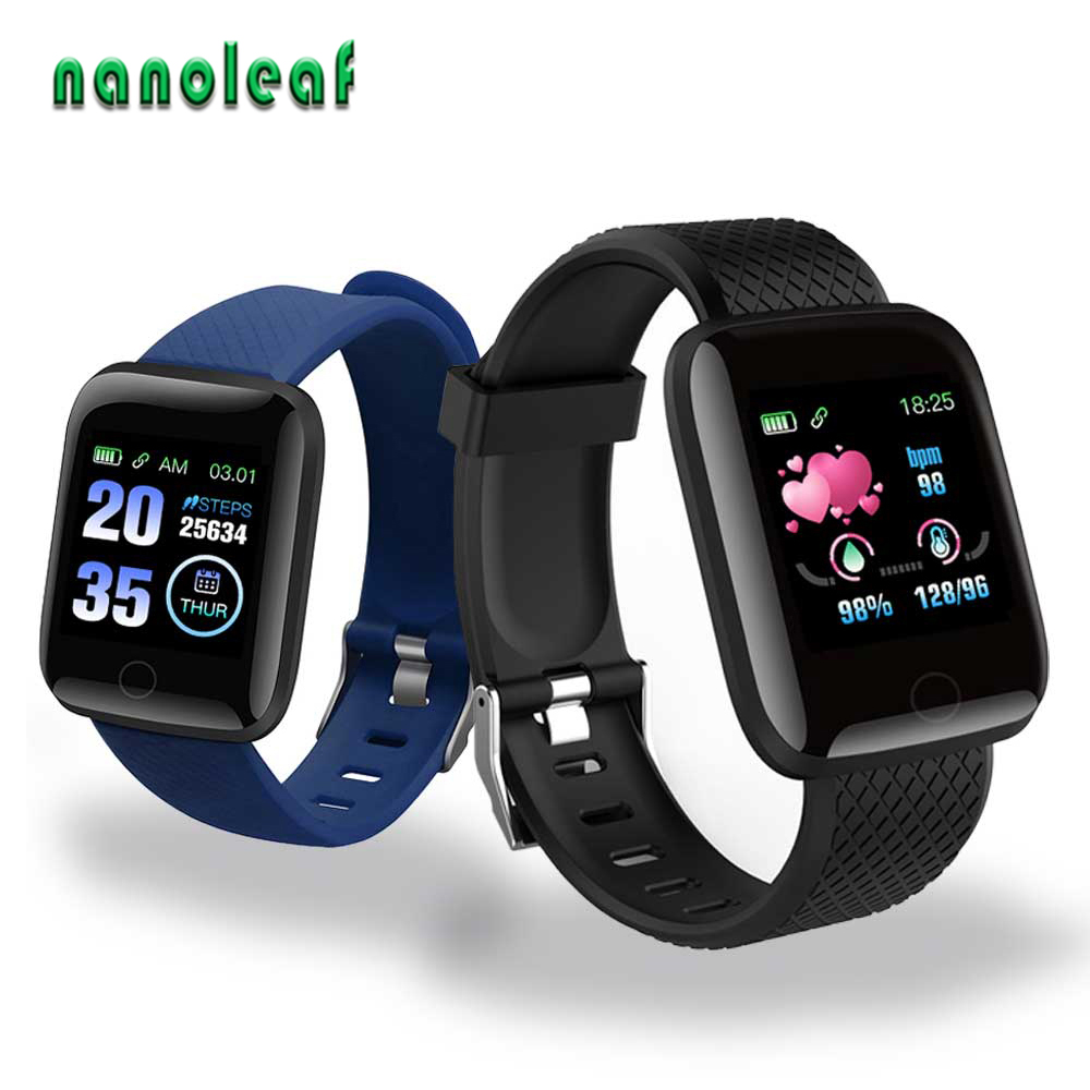 Dropshipping D13 Smart Watches ID116Plus Heart Rate Smart Band Fitness Sports Wristband Life Waterproof Smartwatch For Men Women