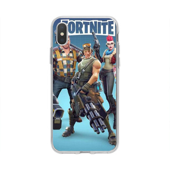 Original Fortnites Phone Cases Cartoon Game Painted Mobile Phone Cases for IPhone 11 Pro XS 8 7 6 Plus Silicone Soft Shell Cover 2