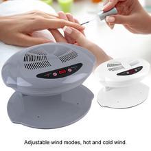 400 Вт Воздушный вентилятор для ногтей, Сушилка для ногтей, теплый и холодный ветер, УФ Гель-лак для ногтей, сушка, лак для ногтей, воздуходувка для рук и пальцев ног