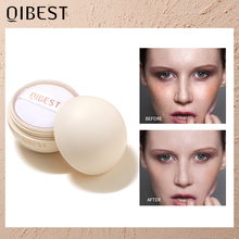 QIBEST Smooth Face Loose Powder Oil Control Transparent Matte Fixing Finish Powder Waterproof Setting Powder Cosmetics Makeup