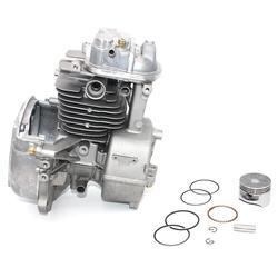 Cubierta del conjunto del cárter-cubierta de la cabeza del cilindro juego del anillo del ventilador pistón para Honda GX35 GX35NTHHT35S UMC435A PN 10100-Z3F-405