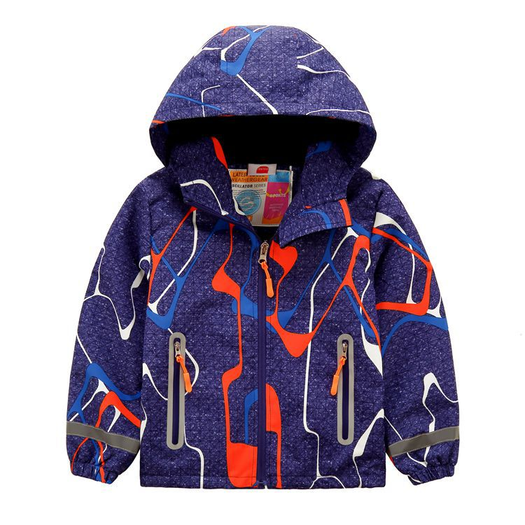 Baby Girl Rainbow Striped Print Hoodie Sweatshirt With Pocket Kids Coat Outfits