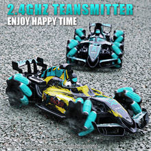 RC Car 4WD Radio Control Stunt Car Gesture Induction Twisting Off-Road Vehicle Drift RC Toys with Light & Music Drop Shipping