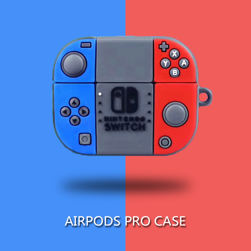 For Apple Airpods Pro Earphone Case Fashion Switch Game Console Wireless Bluetooth Headset Cover For Airpods Pro Case 3 Silicone