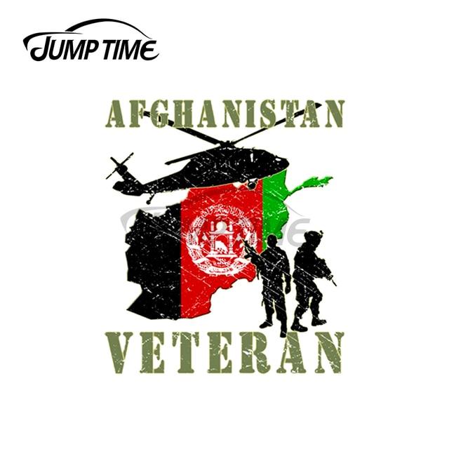 Jump Zeit 13x12cm Für Afghanistan Veteran Auto Assessoires Military Aufkleber Kratz Aufkleber Motorrad Vinyl Auto Wrap