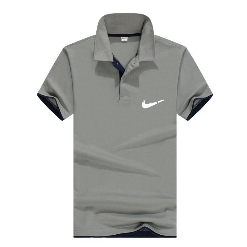 Breathable Men's Business Casual Polo Shirt