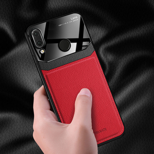 Image 3 - I coque,cover,case,For Xiaomi Redmi Note 7 Pro Note7 On leather Mirror glass Silicone Shockproof phone Luxury soft cute cases