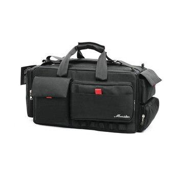 цена на NEW PROFESSIONAL Video Functional Camera Bag Backpack For Nikon Sony Panasonic Leica Samsung Canon JVC Case  MSDD