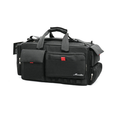 Profissional de Vídeo Bolsa da Câmera Mochila para Nikon Novo Funcional Sony Panasonic Leica Samsung Canon Jvc Case Msdd