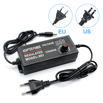 Adjustable Power Supply AC 100V-240V TO DC 3V-12V 3V-24V 9V-24V 1-24V 24V-36V 1A 2A 3A 5A Universal Adapter For CCTV/LED Strip