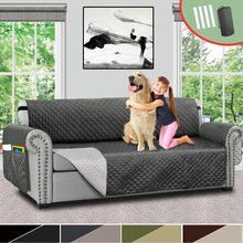 Reversible Sofa Cover Quilted Sofa Covers For Living Room Chair Couch Cover Slipcovers Furniture Protector For Kids Pet Dogs