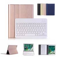 Wireless Bluetooth Keyboard Cover For iPad Pro 11 2018 Case Removable Pencil Holder Stand Case For iPad Pro 11 2018 Cover