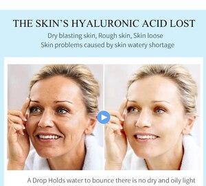 Image 4 - PUTIMI hyaluronik asit yüz serumu nemlendirici, anti kırışıklık Anti Aging kollajen gözenekleri küçültmek yüz özü beyazlatma yüz kremi
