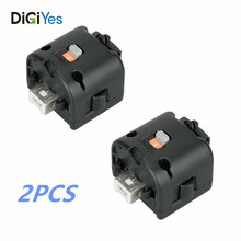 2PCS Motion Plus Adapter Sensor for For-Wii Remote Controller