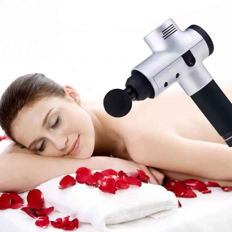 Vibration électrique jambes minceur Portable réglable Mode entraînement du cou masseur musculaire dos corps Relax faible bruit soulagement de la douleur