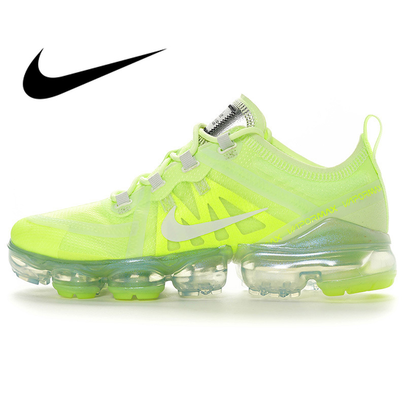 Original Authentic Nike Air Vapormax Run Utility Women's Running Shoes Fashion Classic Outdoor Breathable Comfort AR6632-700