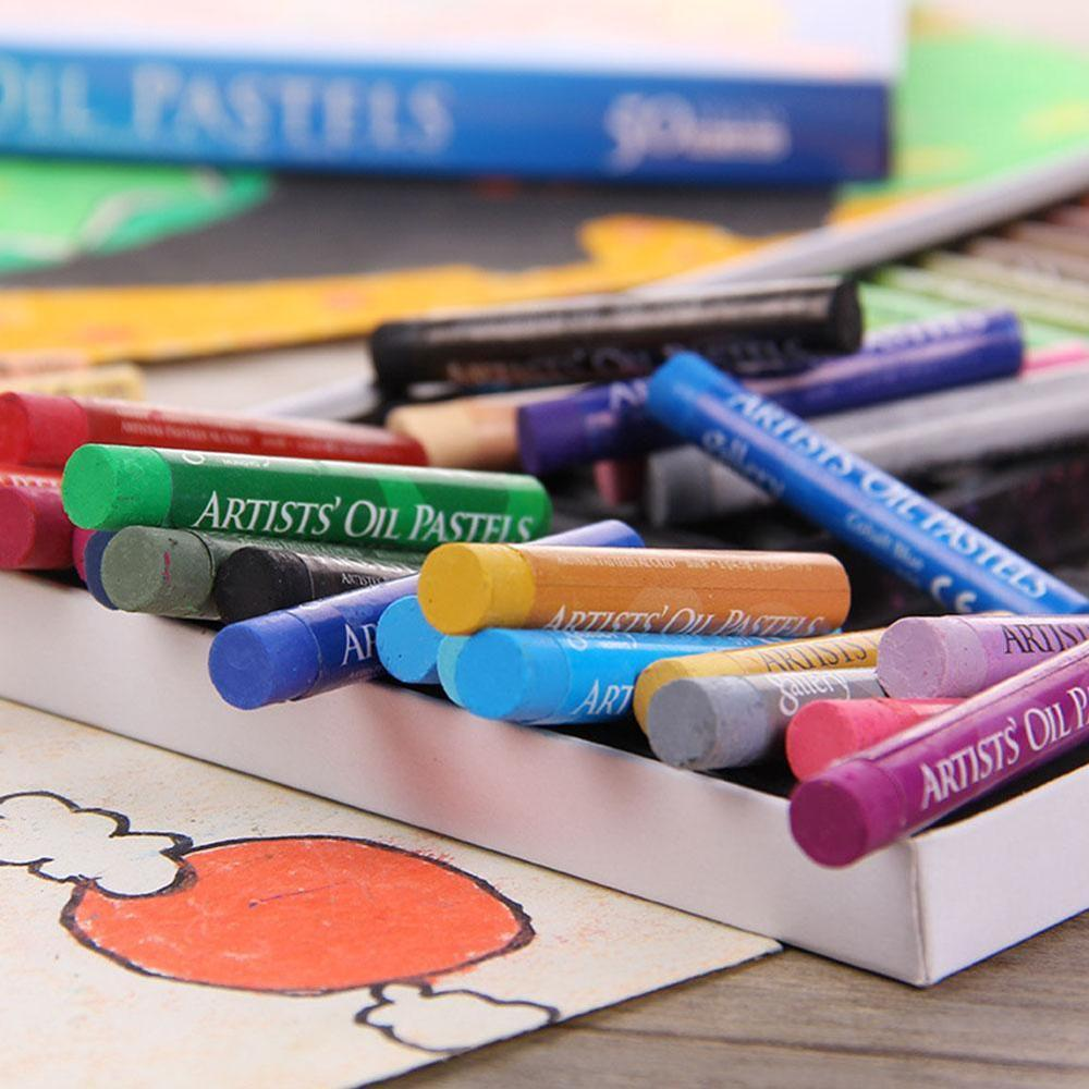 artista estudante grafite pintura macia pastel crayon 02