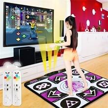 Double User Dance Mats Non-Slip Dancer Step Pads Sense Game English for PC TV Mat Wireless Controll Games Yoga Mats Fitness