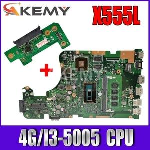X555LJ MAIN_BD._4G/I3-5005CPU/AS GT920M/2G mainboard REV 3.6 For Asus X555LJ LB X555LF X555LD X555L VM590L laptop motherboard
