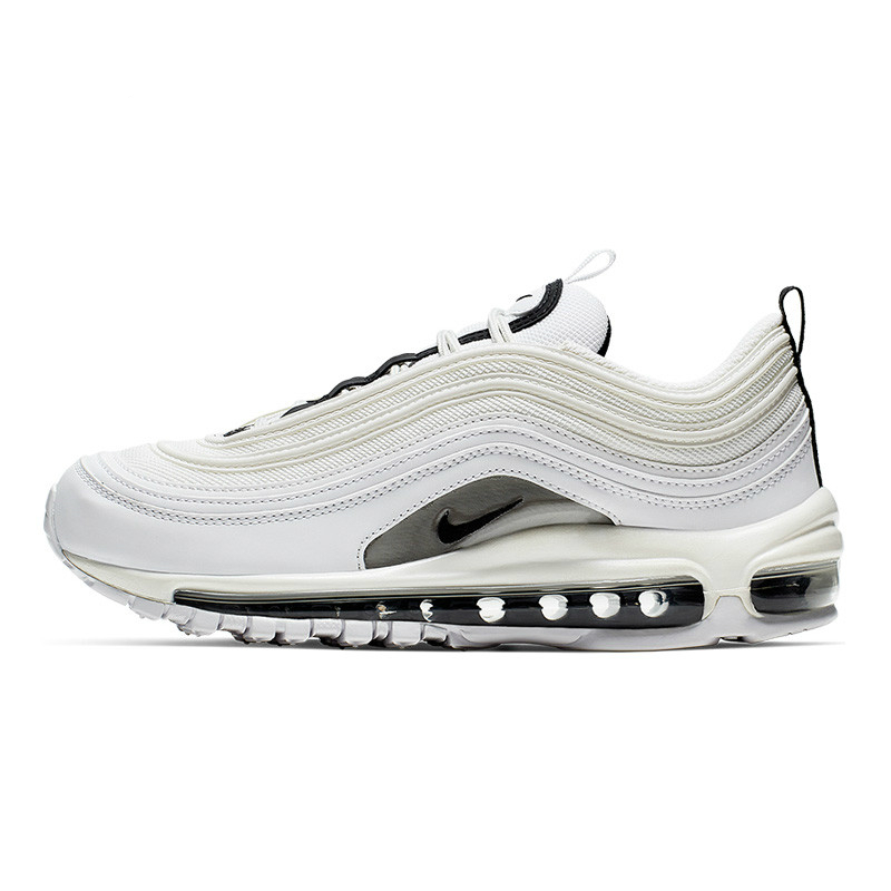 Details about Nike Mens Air Max 97 Black White Lace Up Sneakers Shoes 921826 001 Size 11