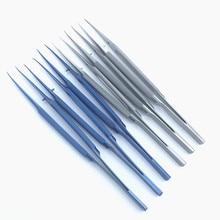Ophthalmic-Instruments Tweezers Titanium 16cm Round-Handle Stainless-Steel