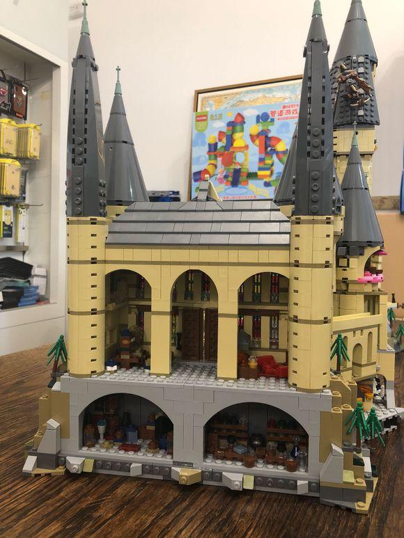 Harri Hogwart Magic Castle Film Piton Silente della Scuola di Magia Modello 6742Pcs Mattoni Building Block Giocattoli Per Bambini Film - 3