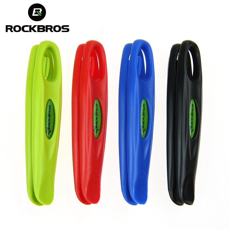 ROCKBROS Cycling Bike Bicycle Ultralight Tire Tyre Lever POM MTB Bike Wheel Repair Tire Tool Kit Set Bike Bicycle Accessories