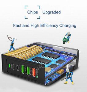 "Image 5 - 75W מהיר תשלום 3.0 USB סוג C פ""ד כוח מתאם טלפון מטען עבור iphone Huawei Macbook אוויר סמסונג Tablet מהיר USB תשלום"