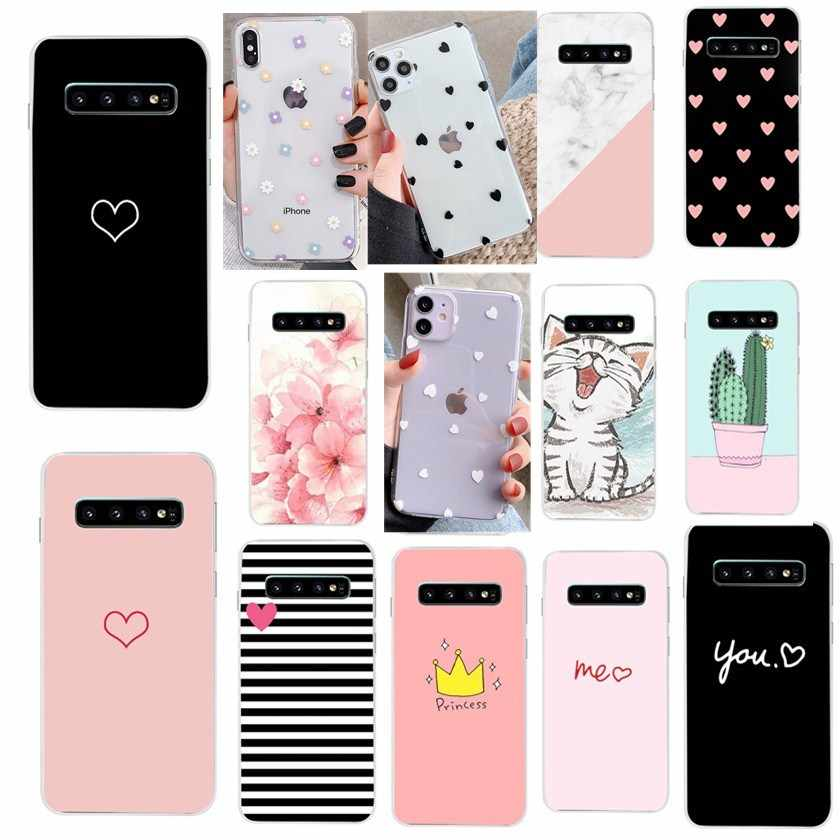 Case For Samsung Galaxy S10 Plus S10e Phone Case Cute Silicon Funda Soft Tpu Cover For Samsung S10 S10lite S10 Cases Phone Case Covers Aliexpress