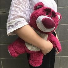Free Shipping 32cm Toy Story Lotso Huggin Bear Plush toys Stuffed Super Soft Kids Doll for Children Gift