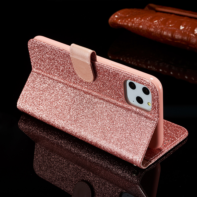 Bling Glitter Leather Case for iPhone 11/11 Pro/11 Pro Max 4