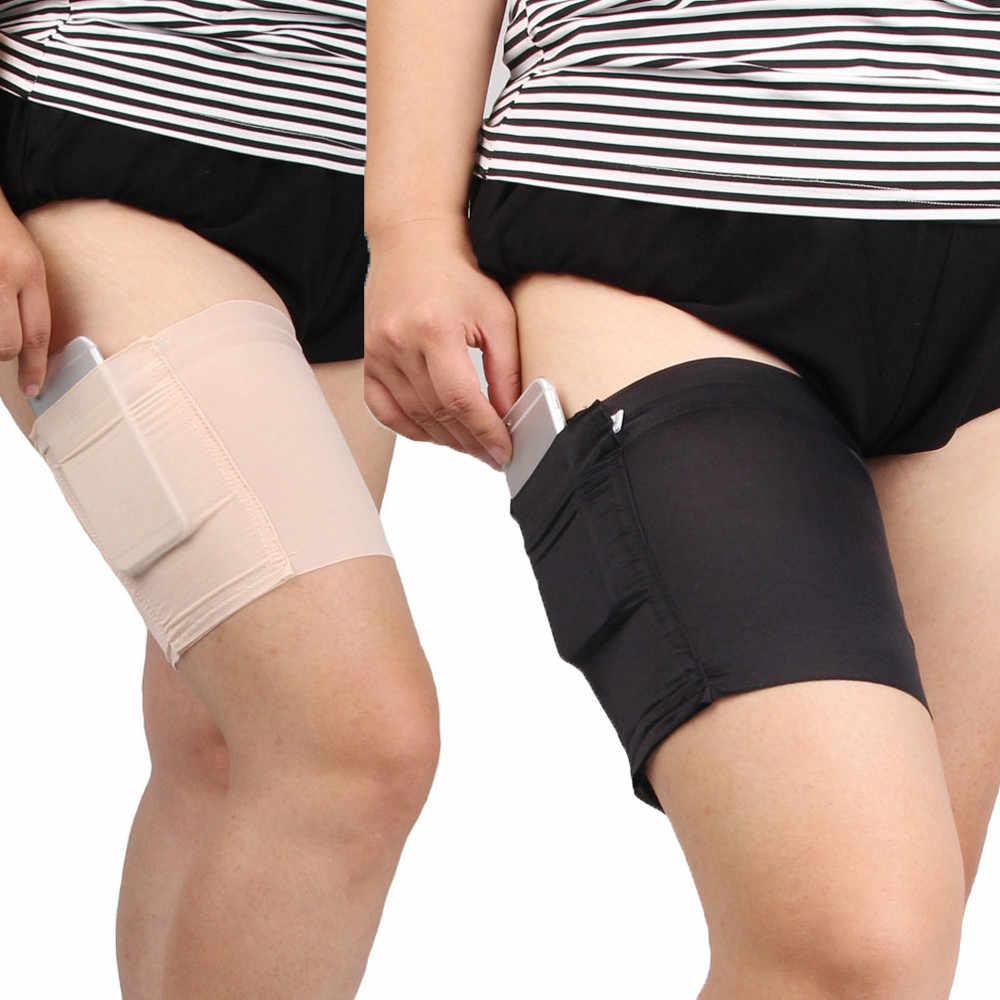 여성 다리 따뜻하게 패션 포켓 탄성 안티 Chafing 섹시한 허벅지 밴드 방지 허벅지 Chafing 양말 허벅지 Garters 다리 따뜻하게