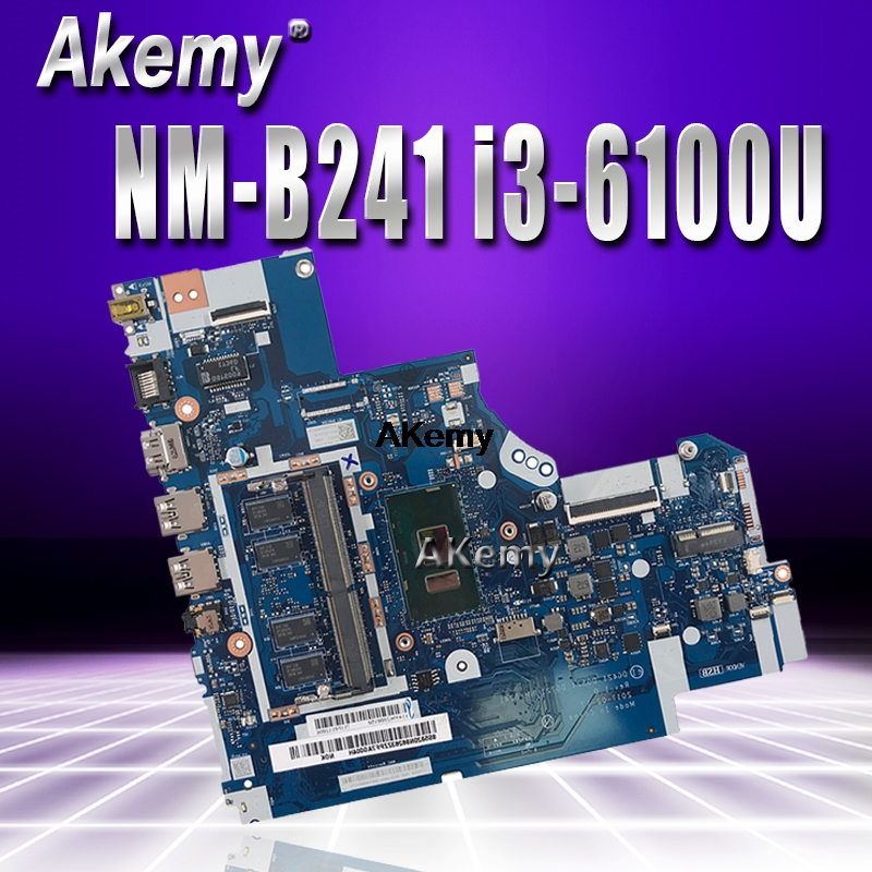 NM-B241 Laptop <font><b>motherboard</b></font> for <font><b>Lenovo</b></font> <font><b>Ideapad</b></font> <font><b>320</b></font>-15ISK original mainboard 4G-RAM I3-6100U image