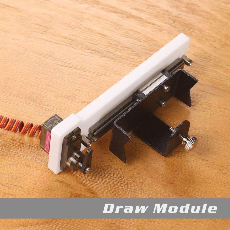 Ziehen Modul Kit Set Für Eleksmaker EleksLaser Gravur Maschine Komponenten Zeichnung Handschrift Simulation Anpassung N1HF