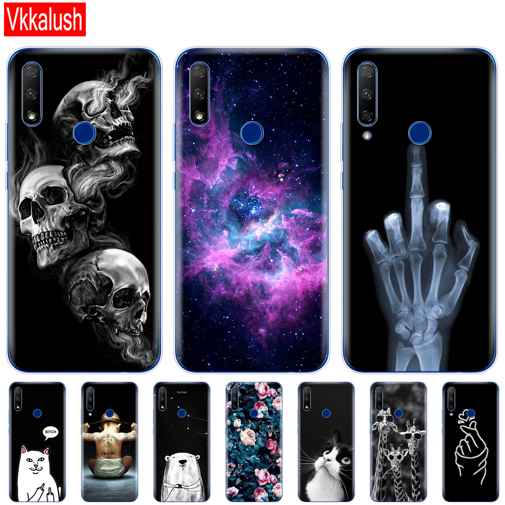 For Honor 9X Global Case Honor 9X Premium Case Silicon TPU Soft Back Cover Phone Case For Huawei Honor 9X Premium STK-LX1 Bumper