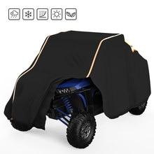 UTV-cubierta de almacenamiento para vehículos, accesorio negro de utilidad a prueba de agua, lado a lado, SxS, para Polaris Ranger 570 900 1000 RZR 900 modelos 2014-2017