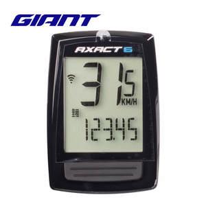 Riding-Equipment Mountain-Bike GIANT Stopwatch Waterproof AXACT6 Wired Genuine-Product