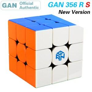 Image 1 - GAN 356 R S RS 3x3x3 cubo mágico 3x3 actualizado GAN356/356RS Cubo de velocidad profesional Neo rompecabezas juguetes anti estrés para niños