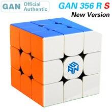 Gan 356 r s 3x3x3 cubo mágico, cubo mágico 3x3 gan356/356rs profissional atualizado cubo de velocidade neo antiestresse, brinquedos para crianças