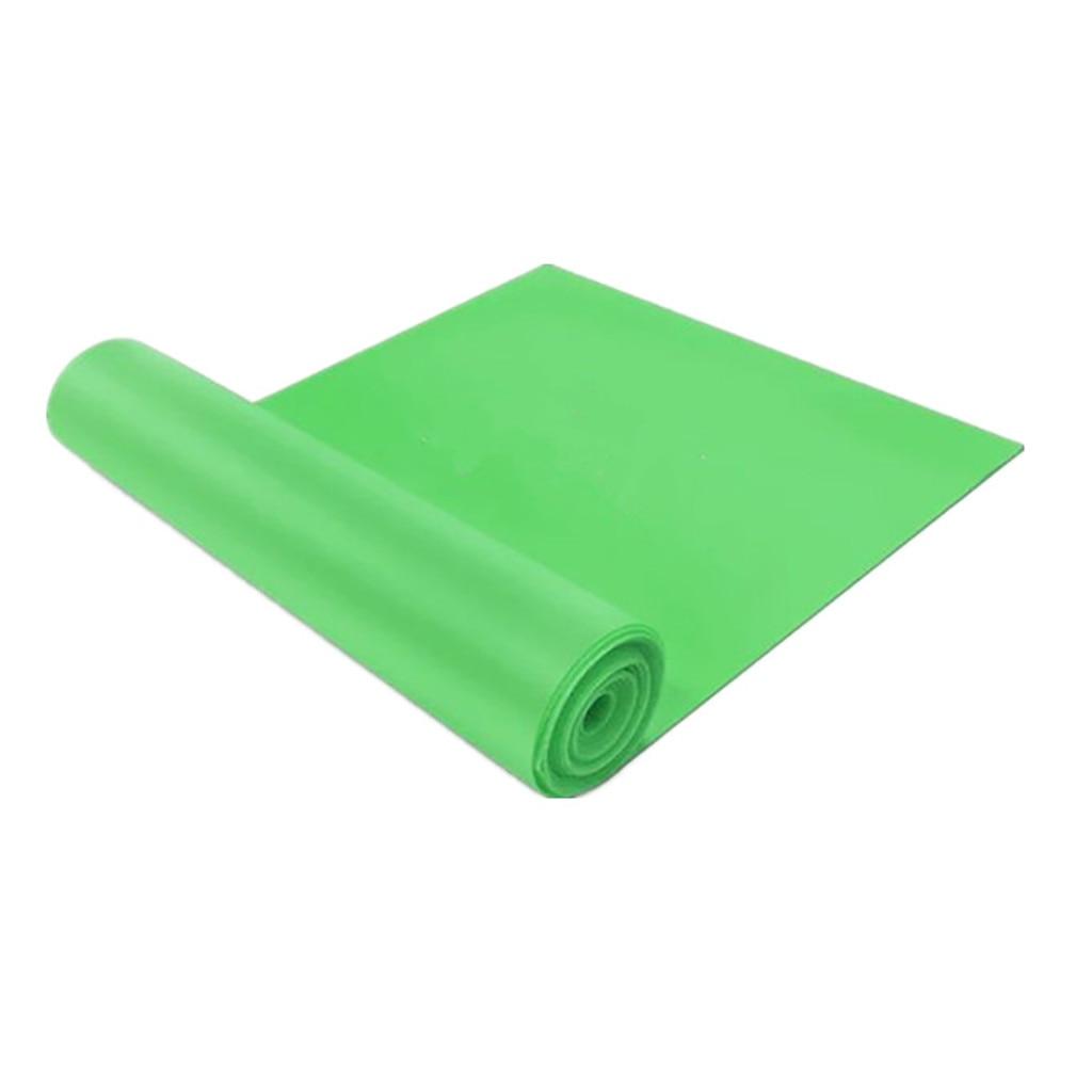 Эластичный Йога, Пилатес, стрейч, сопротивление 1,5 м, длинный спортивный пояс для фитнеса, пояс для йоги, ралли, тянущийся пояс, оборудование для фитнеса и йоги#30 - Цвет: Зеленый