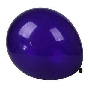 10x10 дюймов латексные фиолетовые Свадебные шары