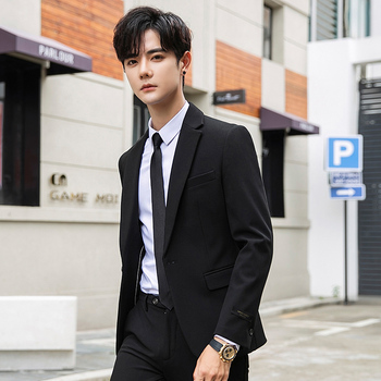 Men's casual suits 2020 spring and summer new handsome Slim casual suit jackets youth personality fashion trend men's clothing