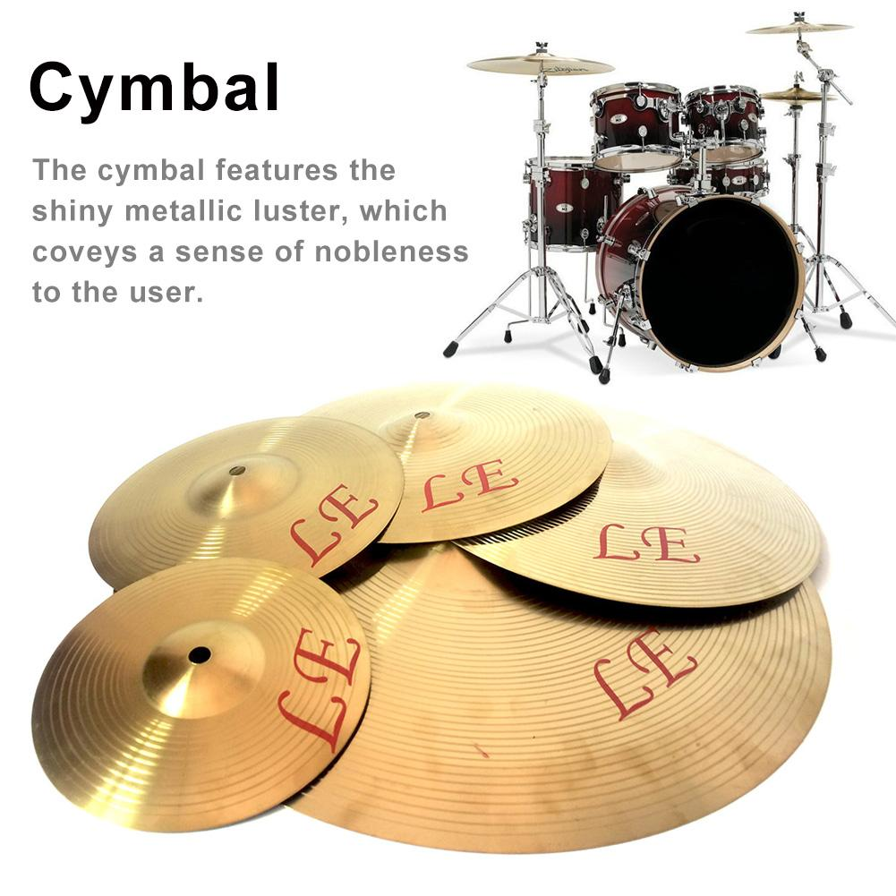 Copper Alloy Crash Cymbal Drum Instrument For Player 8 10 12 13inch