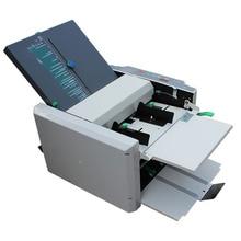 500sheets 110v 220v RD 297 Automatic Paper Folder Machine Electric Folding Machine Crease Machine Stacker Folding