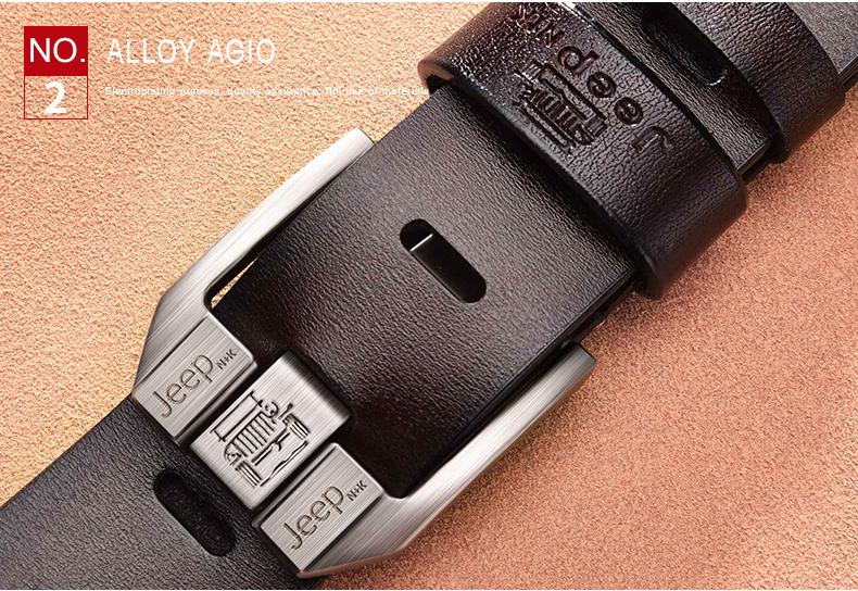 H66b4d6ce568b44e68fa40f5ab578723ba - JIFANPAUL Men's genuine leather luxury brand belt high quality alloy pin buckle men's business retro youth with jeans new belt
